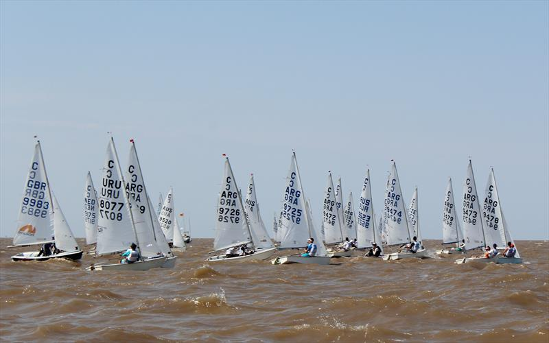 Day 4 of the Cadet Worlds in Buenos Aires - photo © Fernando Jochoian