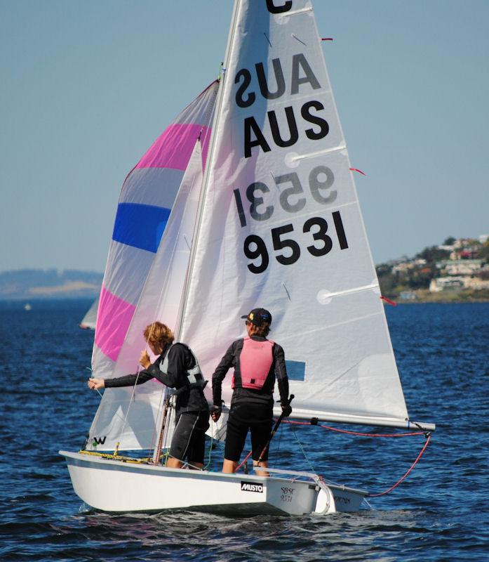 australian cadet nationals at sandy bay sailing club