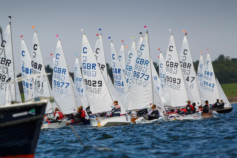 Racing at the 2013 RYA Zone and Home Country Championships - photo © Paul Wyeth / RYA