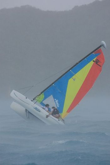 Action from the BVI Sailing Festival