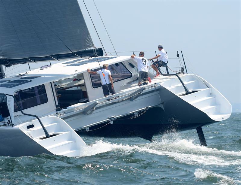 Elvis wins the inaugural New York Yacht Club Multihull Regatta - photo © Stuart Streuli / NYYC