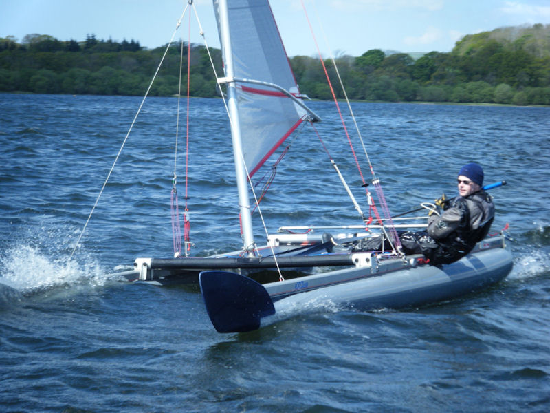 Gareth Ede retains the Catapult Northern Trophy