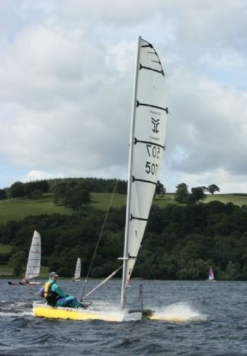 Paul Ellis storms to victory in the Catapult nationals at Bala
