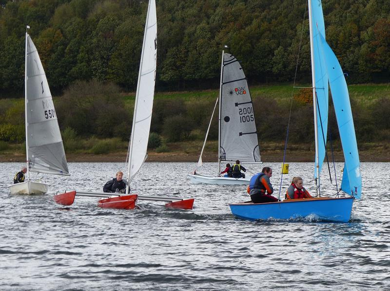 Challengers at the Ogston Sailing Club Open Handicap Regatta - photo © Richard Johnson