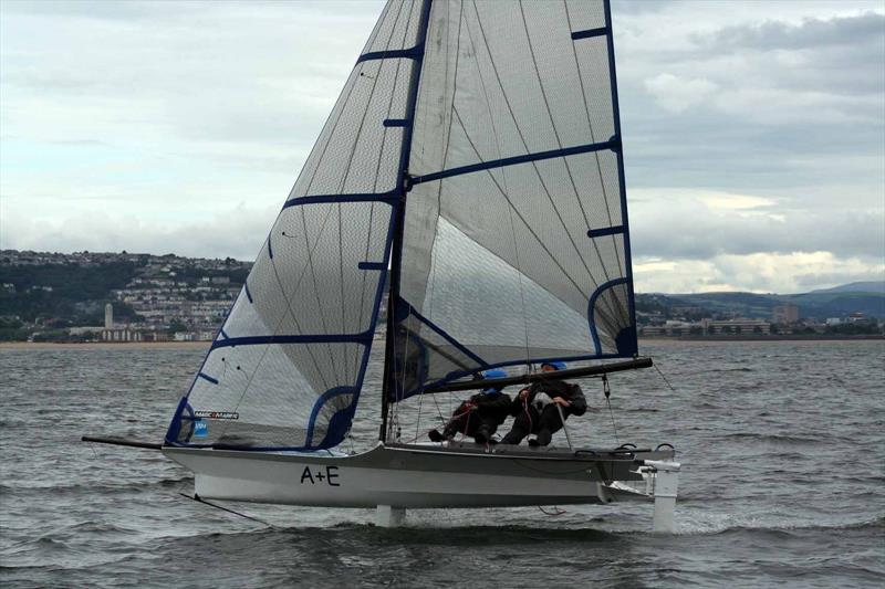 Foiling during the Cherub Nationals at Mumbles - photo © Colin Jenkins