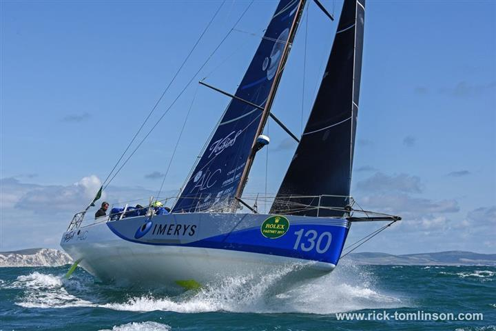 Phil Sharp's Class40 finishes in second place in the Rolex Fastnet Race - photo © Rick Tomlinson / www.rick-tomlinson.com