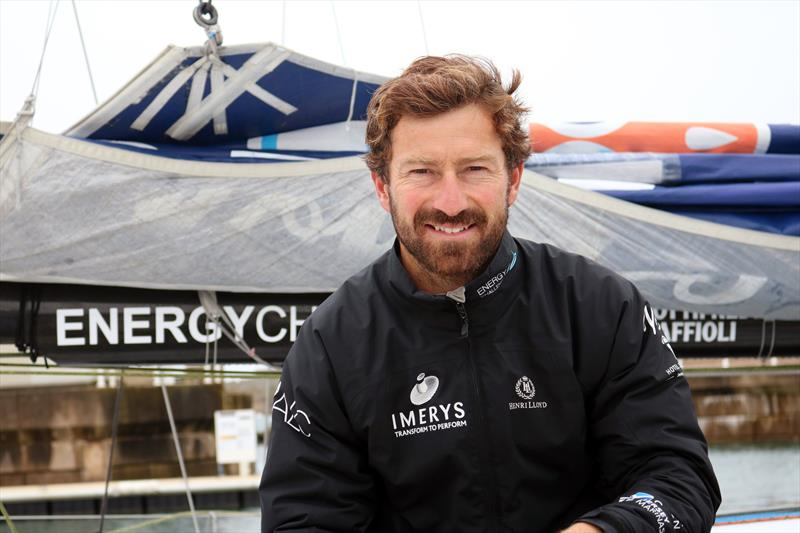 Phil Sharp aboard Imerys - photo © TJV