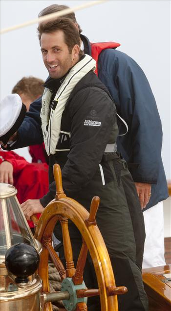 'Eleonora' during the J.P. Morgan Asset Management Round the Island Race