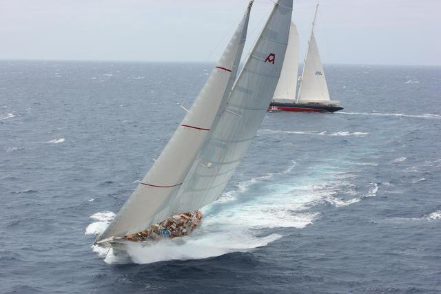 Adela, the magnificent schooner is the largest yacht in the RORC Caribbean 600 fleet - photo © RORC / Tim Wright