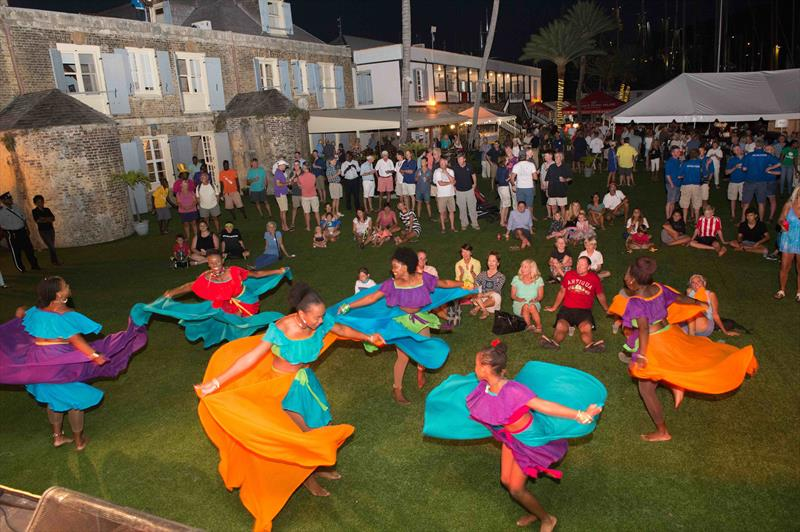 Shiva Dance Troupe performs on Opening Night of the Antigua Classic Yacht Regatta - photo © Antigua Classic Yacht Regatta