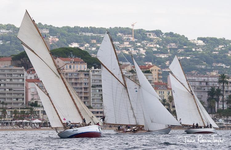 Despite the eye-watering sums of money involved, the classic yacht scene has now matured into a high class globally spread phenomena. Having events in all the best places helps, as does the support of high profile sponsors - photo © Regates Royales / James Robinson Taylor