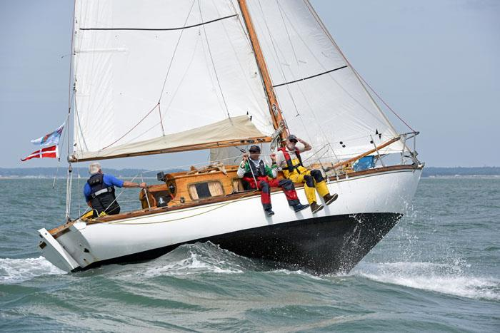 Winning SCOD Adelie on day 2 at Charles Stanley Direct Cowes Classics Week - photo © Rick Tomlinson / www.rick-tomlinson.com