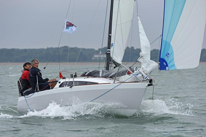 Jo Richards' Eeyore in Classic Cruisers Green Class on day 3 at Charles Stanley Direct Cowes Classics Week - photo © Rick Tomlinson / www.rick-tomlinson.com