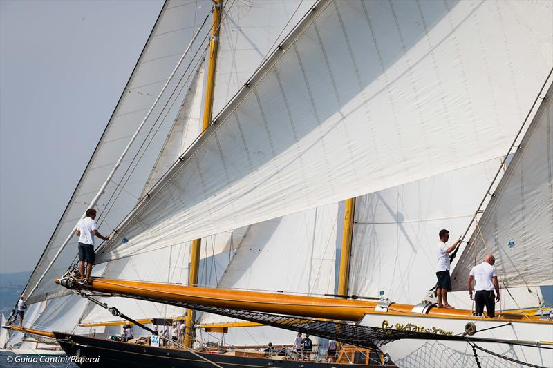 Big Boat start at the 39th Régates Royales de Cannes – Trophée Panerai - photo © Guido Cantini / Panerai