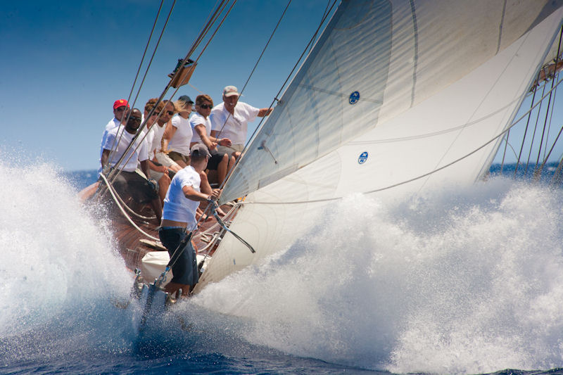 The 4th edition of Les Voiles de Saint Barth takes place between 8-14 April