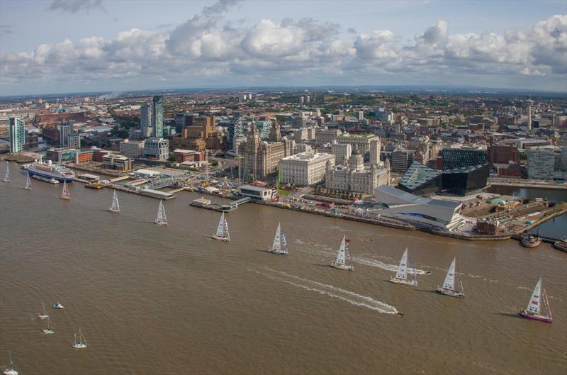The Clipper Race 2017-18 starts from Liverpool - photo © Matt Goodfellow / Dupe Creative