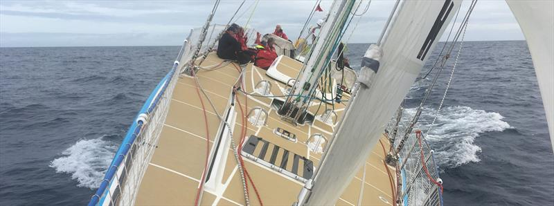 Leg 2 of the The Clipper Race 2017-18 photo copyright Clipper Ventures taken at  and featuring the Clipper 70 class