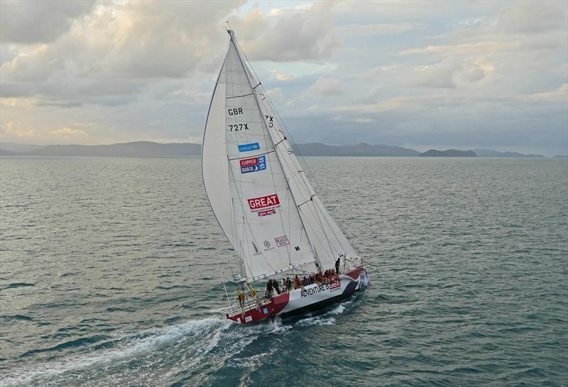 Peter Thornton on Great Britain during the Clipper Round the World Yacht Race - photo © Clipper Ventures