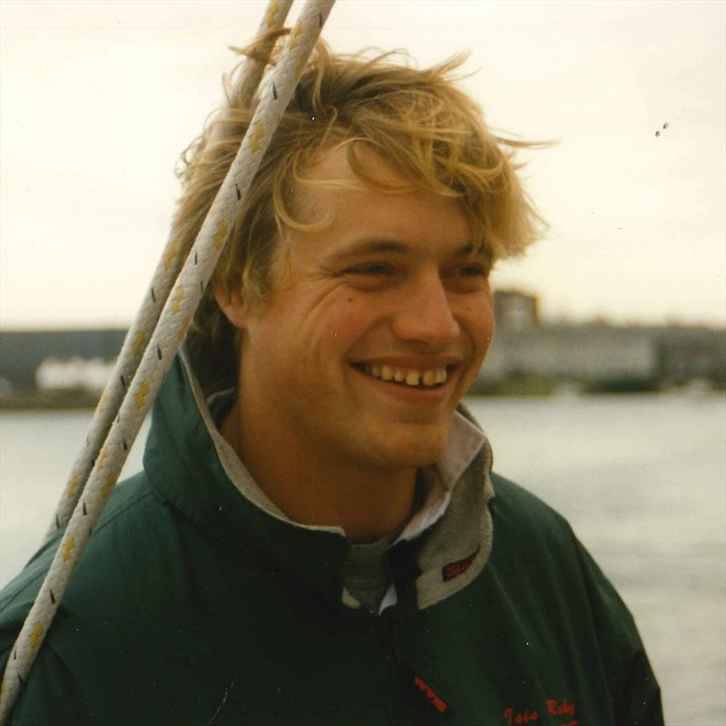 Alex Thomson during the 1998-99 Clipper Race - photo © Clipper Ventures