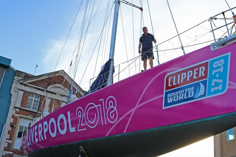 Liverpool 2018 Clipper Race Team Entry photo copyright Clipper Ventures taken at  and featuring the Clipper Ventures class