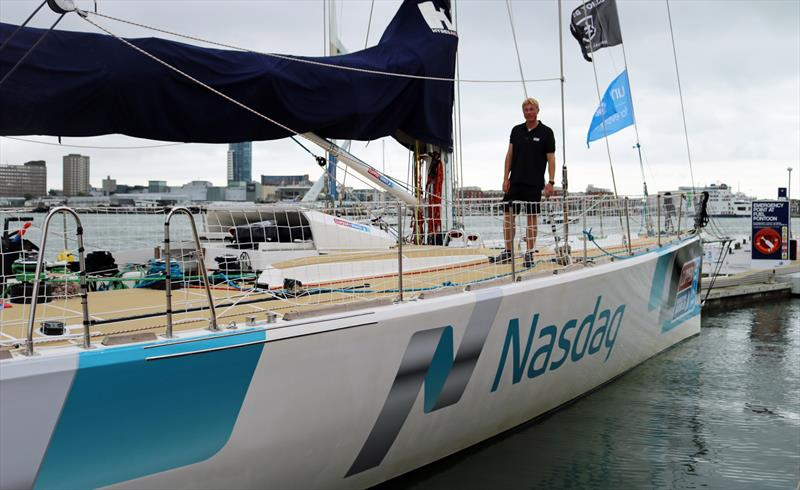 Rob Graham has today been formally announced as the professional Skipper who will lead the Nasdaq team entry in the Clipper Race 2017-18 photo copyright onEdition taken at  and featuring the Clipper Ventures class