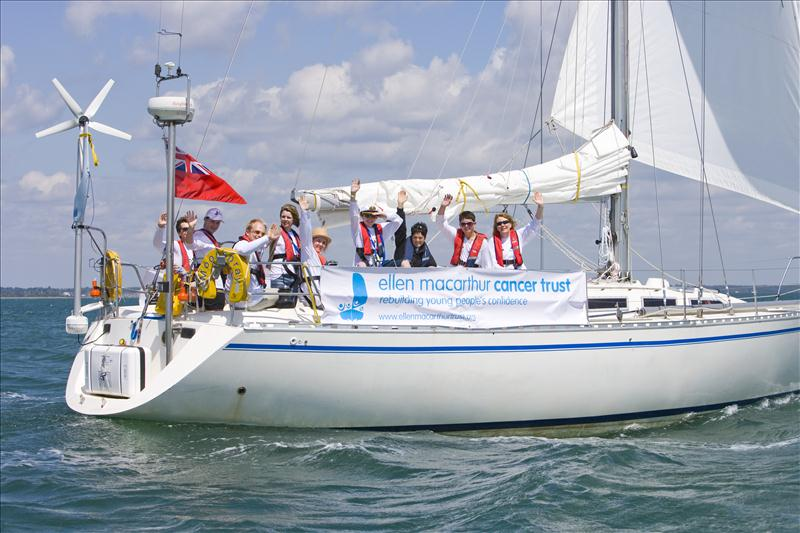 Clipper Ventures has announced that it will support the Ellen MacArthur Cancer Trust as its official charity for the 2013-14 edition of the Clipper Round the World Yacht Race