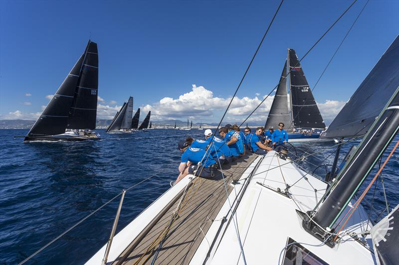 Onboard ClubSwan 50 Spectre on day 1 of the The Nations Trophy - photo © Nautor's Swan/Studio Borlenghi