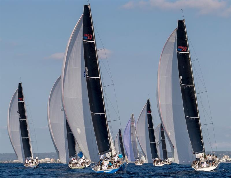 28 Swan One Designs from 11 nations racing in Palma on day 2 of The Nations Trophy - photo © Nautor's Swan / Studio Borlenghi