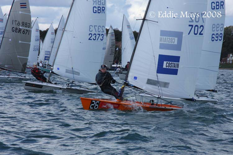 Boat Bits Contender TT at Weston Sailing Club. By Martin Frary on 21 Oct ...