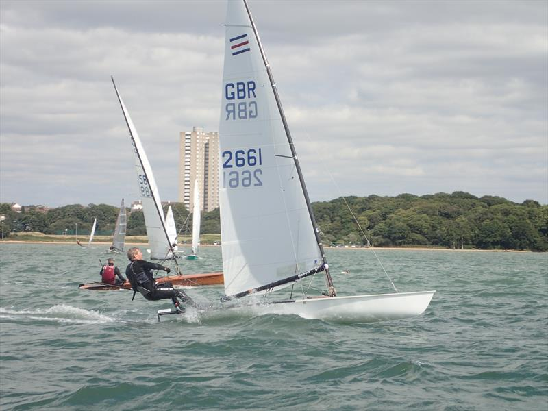 Contenders at the Weston WOSH Regatta 2017 - photo © Alan Davis