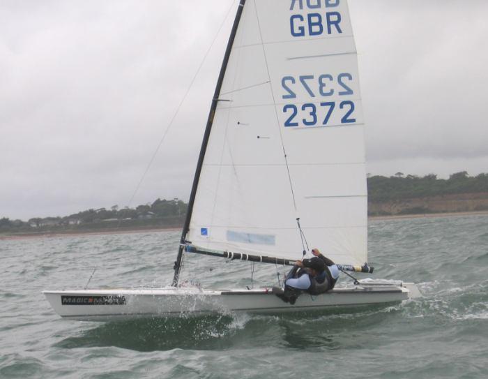 Contender TT Round 7 at Highcliffe Sailing Club