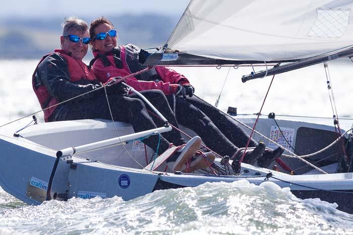 Mark & Jane sailing at adidas Poole Week - photo © David Harding / www.sailingscenes.com