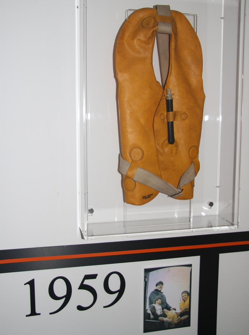 A bit of history: 1959 Crewsaver lifejacket photo copyright Mark Jardine / YachtsandYachting.com taken at  and featuring the  class