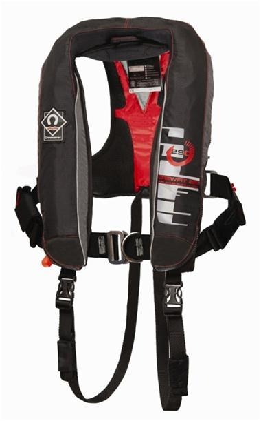 safety alert for crewsaver crewfit 290n advanced life jacket