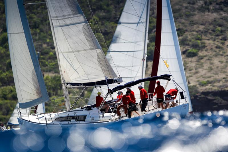Reudiger Margale's Turner leads CSA Bareboat 2 on Race Day 4 at Antigua Sailing Week - photo © Paul Wyeth / www.pwpictures.com