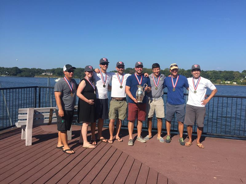 Chicago's Kennalley and team win the 2017 U.S. Offshore Championship - photo © US Sailing