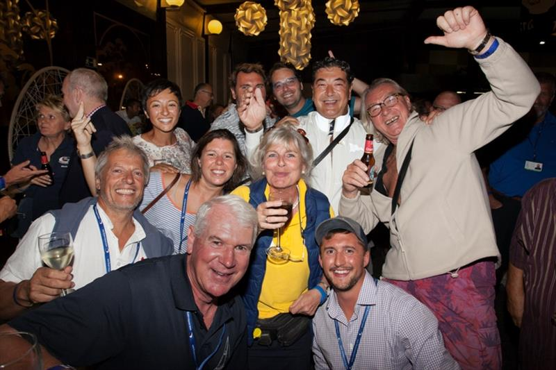 Enjoying the party photo copyright WCC / Clare Pengelly taken at  and featuring the Cruising Yacht class