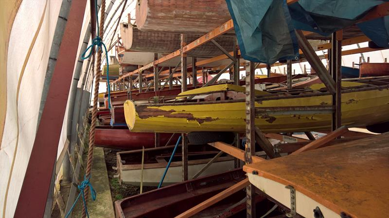 Many of the boats are in need of far more than mere cosmetic restoration with a sad group of the boats needing total rebuilds - photo © A. Dron