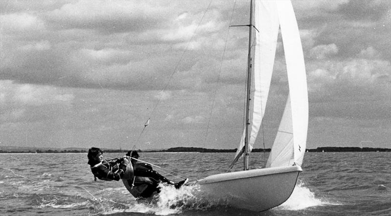 Years ahead of its time, the Typhoon looked to re-define the pocket rocket genre. Sadly, when Chippendales suddenly went into liquidation, it spelt the end of the Typhoon photo copyright J Chippendale estate and Proctor Family taken at  and featuring the Classic & Vintage Dinghy class