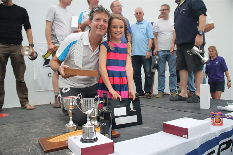 Sean & Sophia McKenna win the Sprint 15 Nationals at Pwllheli - photo © Pauline Love & Holly Farthing