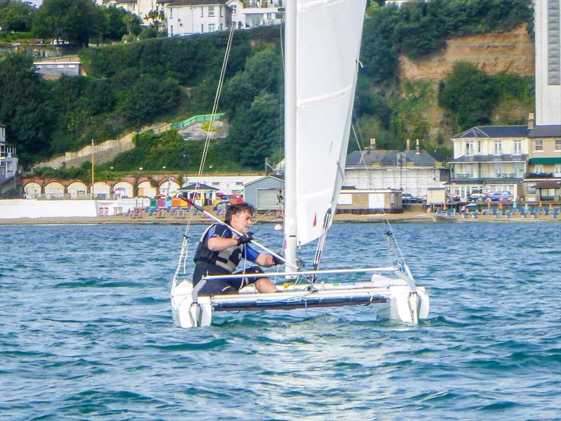 Shanklin Regatta 2017 photo copyright Todd Murrant taken at Shanklin Sailing Club and featuring the Sprint 15 class