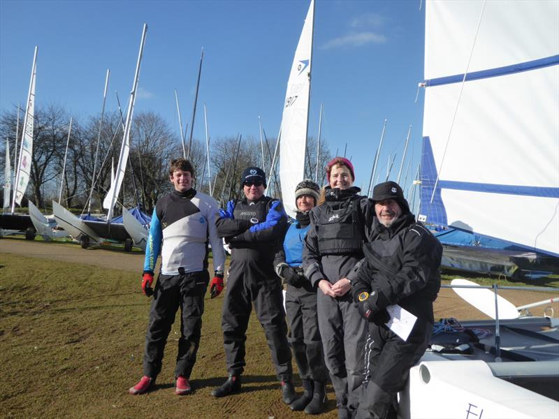 Sprint 15 Winder TT at Rutlandd photo copyright Jenny Ball taken at Rutland Sailing Club and featuring the Sprint 15 class