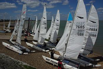 Dart 18 open meeting at Isle of Sheppey