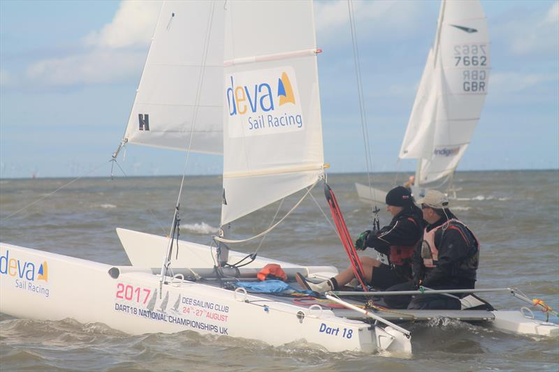 Dart 18 UK Nationals at Dee - photo © Sarka Ngassa