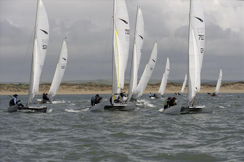 Dart 18s at North Devon photo copyright Mike Bentley / www.mikebentleyphotography.co.uk taken at North Devon Yacht Club and featuring the Dart 18 class