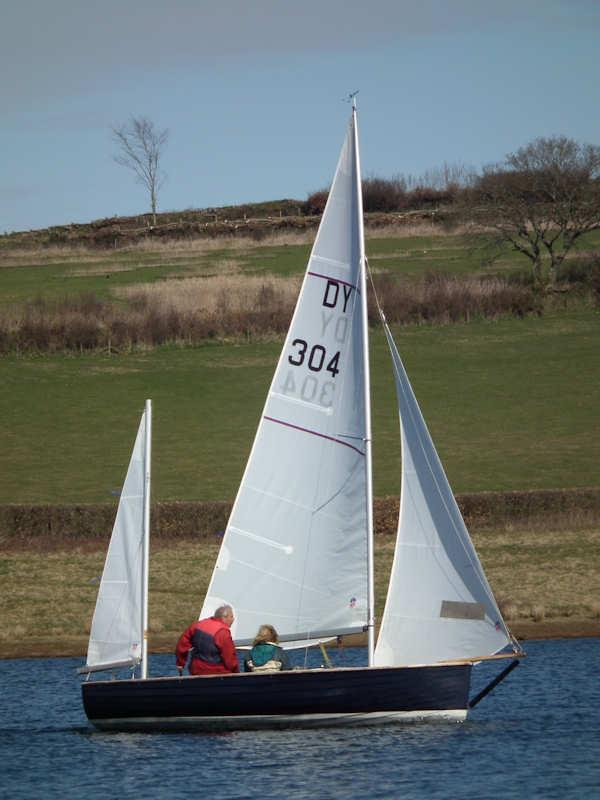 Exmoor Beastie at Wimbleball photo copyright Roger Battersby taken at Wimbleball Sailing Club and featuring the Devon Yawl class