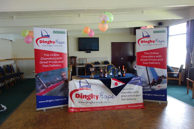 Solo Midland Series prize giving, sponsored by Dinghy Rope - photo © Nigel Davies