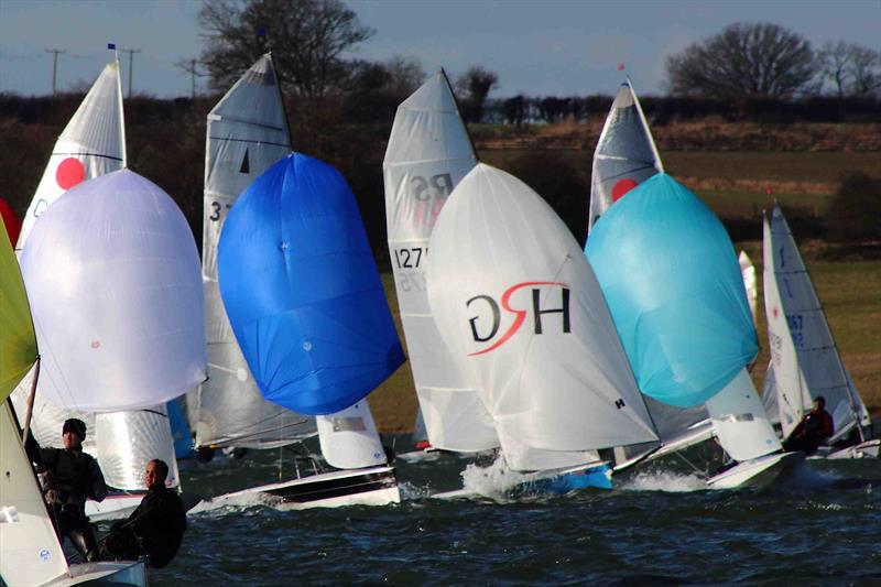 The John Merricks Tiger Trophy takes place at Rutland Water this weekend - photo © Paul Williamson