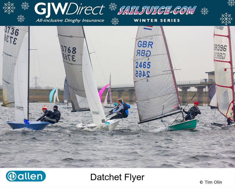GJW Direct SailJuice Winter Series Datchet Flyer - photo © Tim Olin / www.olinphoto.co.uk