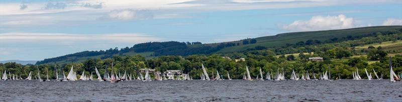 The Birkett fleet sails past the Sharrow Bay Hotel - photo © Tim Olin / www.olinphoto.co.uk